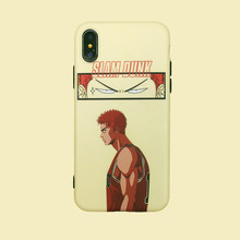 For iPhone 7plus case SLAM DUNK Basketball geniu Japan Anime Phone case silicone cover for coque iPhone 7 7 Plus 6 8 6s Plus X XR xs max case for iPhone 11 Pro Max back cover soft shell стоимость