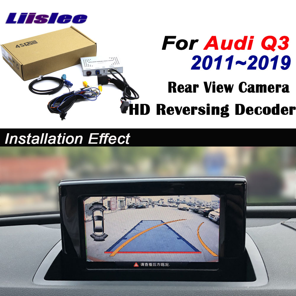 Reverse <font><b>Camera</b></font> For <font><b>Audi</b></font> <font><b>Q3</b></font> 2010~2017 2018 2019 Interface Adpter Parking Rear Backup <font><b>Camera</b></font> Connect Original Screen MMI Decoder image
