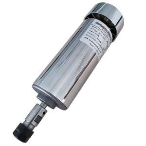 Image 5 - 200 w/300 w/400 w/500 w 스핀들 조각 기계 스핀들 모터 공기 냉각 cnc 스핀들 dc 모터 cnc 조각 기계 er11 3.175mm