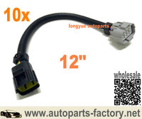 longyue 10pcs  O2 Sensor Adapter Wiring Harness for NTK LZA03 to NTK 24300 Lambda