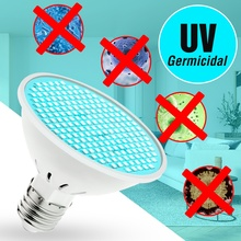 UVC Desinfection Light 25W 35W 50W Germicidal 220V E27 LED UV Sterilizer Lamp 110V Led Bacterial Bulb Kill Germs Amuchina