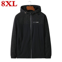 2017 plus size 8XL 7XL Mens Hooded Hoodies Men Sweatshirt Wool Liner Winter Warm Fleece for Tracksuit Male Coat