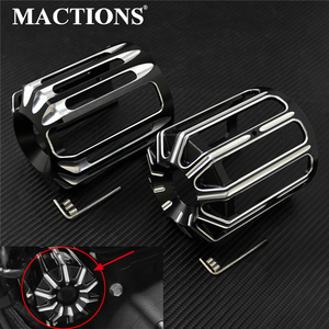 Motorcycle Oil Filter Cover Black Machine Oil Grid Billet Cafe Racer For Harley Sportster Dyna Touring Softail Fatboy Slim XL