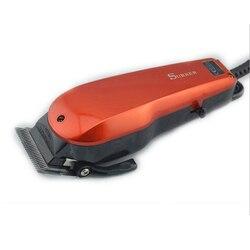Surker elektryczna maszynka do włosów SK 709 all age użyj przewodowa elektryczna maszynka do strzyżenia włosów trymer do brody strzyżenie niski poziom hałasu regulowane ostrze w Trymery do włosów od AGD na