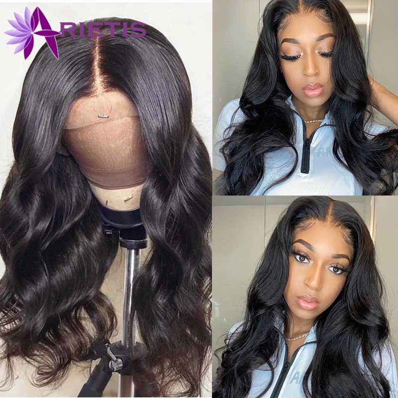 Peruca 360 frontal, ondulada perucas frontal de renda cabelo humano com cabelo natural para mulheres negras cabelo peruano remy