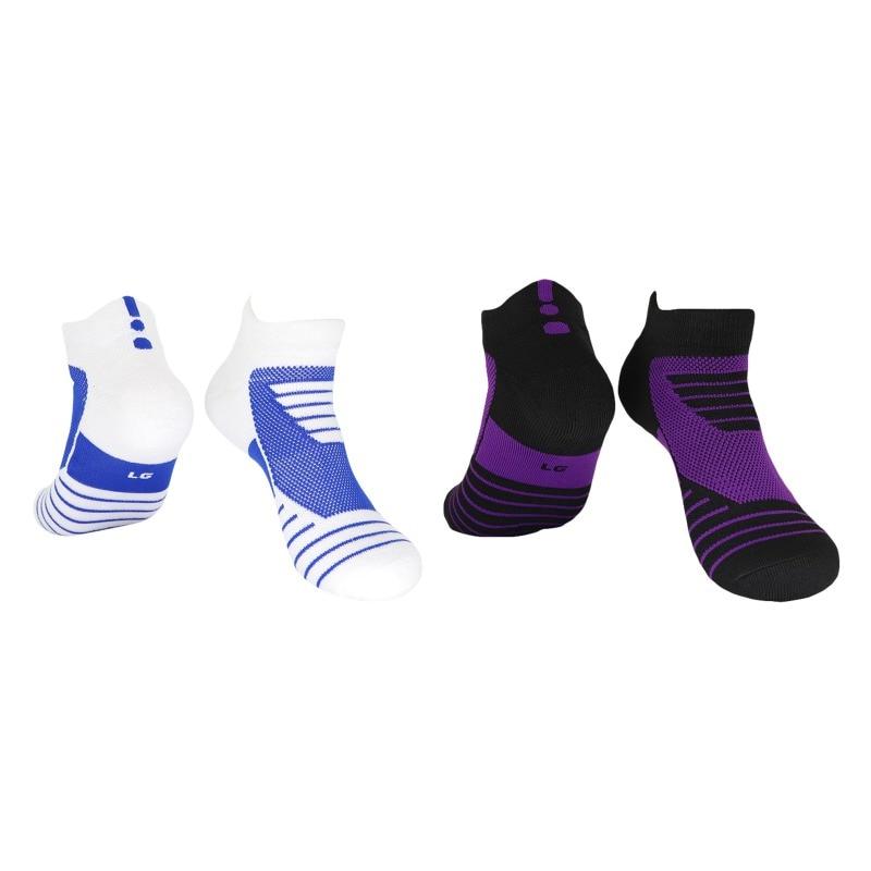 Men Outdoor Sports Basketball Socks Breathable Football Cycling Socks Compression Socks Cotton Towel Bottom Non-slip Men's Socks