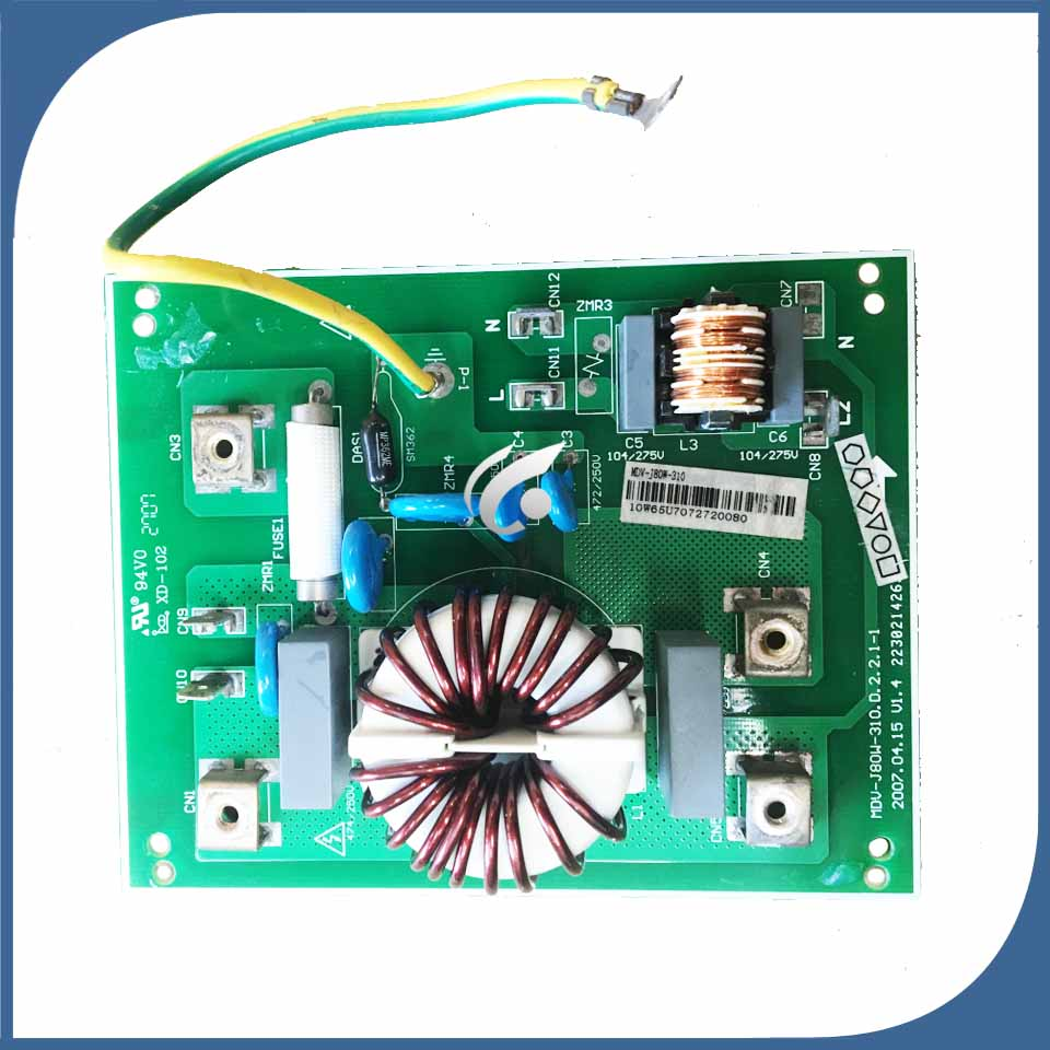good working for air conditioner computer board MDV J80W 310 filter plate lightning protection board sale|Air Conditioner Parts| |  - title=