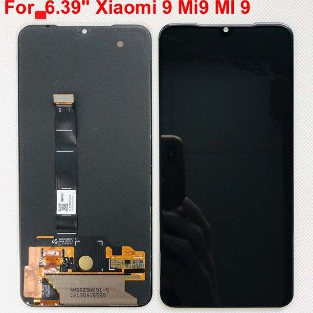 6.39 AMOLEDจอLCDเดิมสำหรับXiaomi Mi 9 Mi9 สำหรับ 5.97 Xiaomi Mi9 SEจอแสดงผลLCD Touch ScreenDigitizer assembly