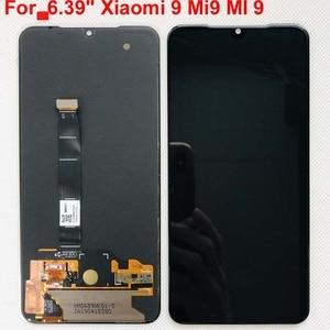 Image 1 - 6.39 AMOLED Original LCD For xiaomi Mi 9 Mi9 Display For 5.97 xiaomi mi9 SE LCD Display Touch ScreenDigitizer Assembly