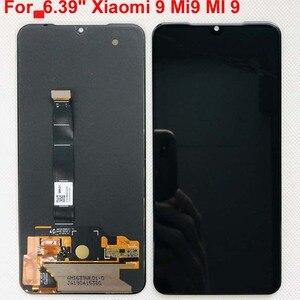 Image 1 - 6.39 Amoled Originele Lcd Voor Xiaomi Mi 9 Mi9 Display Voor 5.97 Xiaomi Mi 9 Se Lcd Touch Screendigitizer Montage