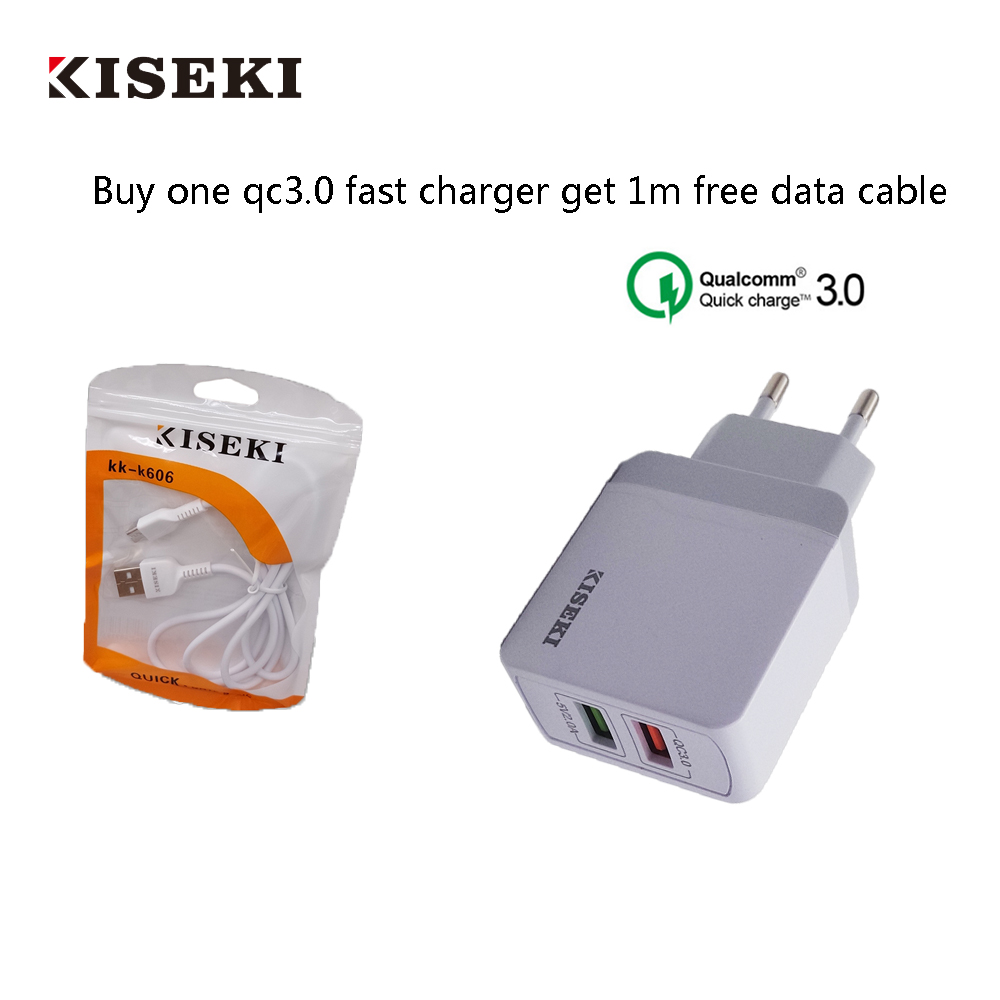 QC3.0 Fast USB Charger High Quality  EU Plug 3 wall charger