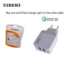 QC3.0 Fast USB Charger High Quality  EU Plug 3 wall charger