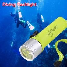 Led Flashlight Magnetron Waterproof Battery Outdoor Emergency Maintenance Light Diving Flashlight Walking Portable Light