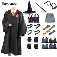 Magic Cloak Potter Cosplay Costume Gryffindor Slytherin Robe Cape Hermione Granger Cosplay Potter Ravenclaw Hufflepuff Costume doctor strange cloak cosplay costume dr strange steve red cloaks magic robe halloween party long cape