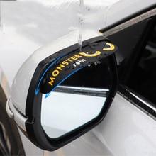 Eyebrow-Visor Shade Rain-Shield Car-Accessories Car-Rearview-Mirror Auto-Mirror-Rain-Eyebrows