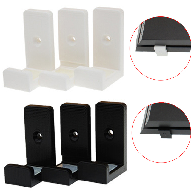 1Set 3D Print Wall Controller Holder For Sony PS4 Slim Pro Console Stand Host Rack Bracket Game Storage Mount Accessories