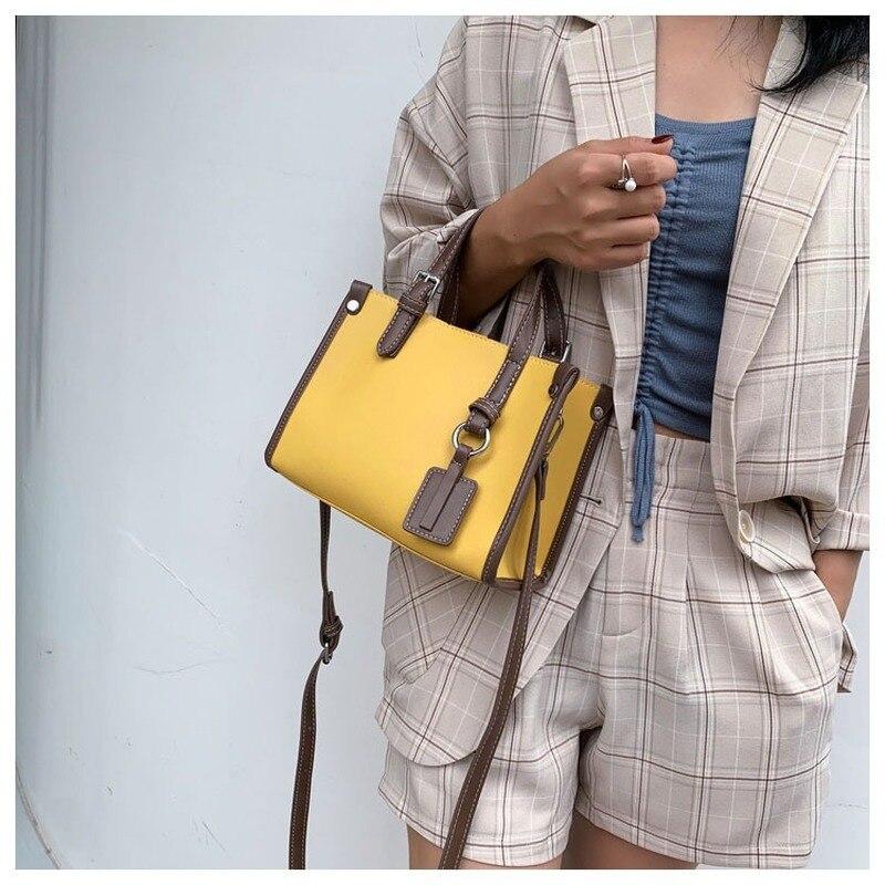 Bags For Women 2020 New Luxury Handbags Women Bags Designer Fashion Women Solid Shoulder Bags PU Purses And Handbags