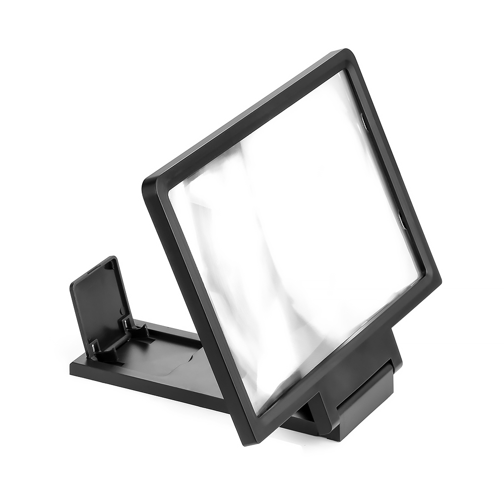 3D Screen Amplifier Universal Mobile Phone Magnifying Glass HD Video Stand Bracket Folding Screen Enlarged Eyes Protection Hold 5