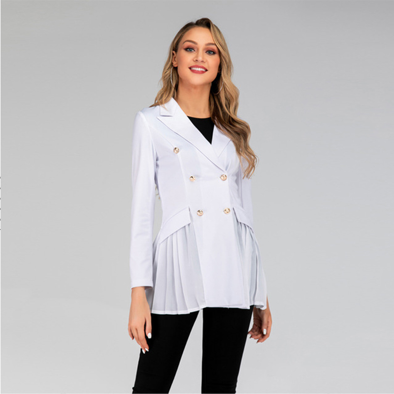 New Womens Blazers New Women's Long-sleeved Casual Office Suit Blazer Mujer Office Ladies Female Suits Coat Boho Women Clothes