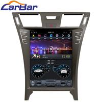 Carbar 12.1 Tesla Style PX6 Android 8.1 Car DVD GPS Player For Lexus LS460 2006 2012 Car Stereo Radio Audio