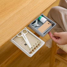 Скрытая для канцелярских принадлежностей под столом паста ящик
