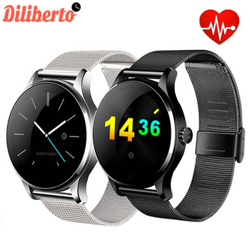 Diliberto K88H Smart Watch Track Wristwatch Bluetooth Heart Rate Monitor Pedometer Dialing Smartwatch Phone for Android IOS