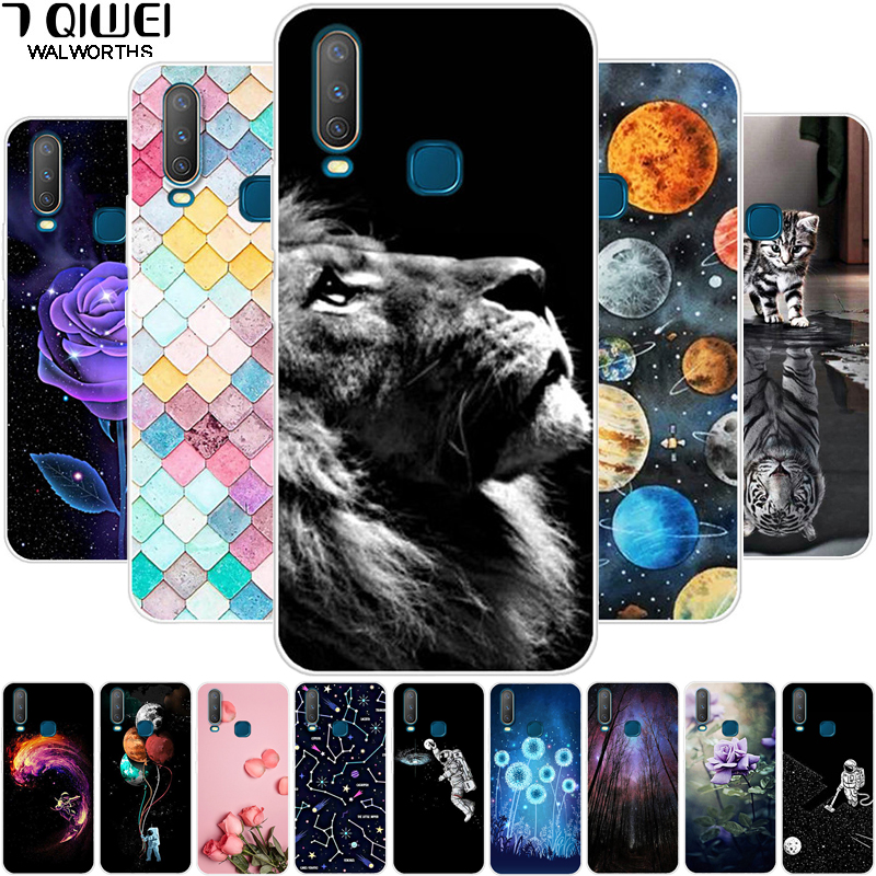 Case For Vivo Y17 Y95 Y91 Y91C Y83 Y81 V11 V11i V15 V15 Pro V9 Phone Cover Soft Silicone For Vivo Y91C Y 17 V 11 V15pro Cases