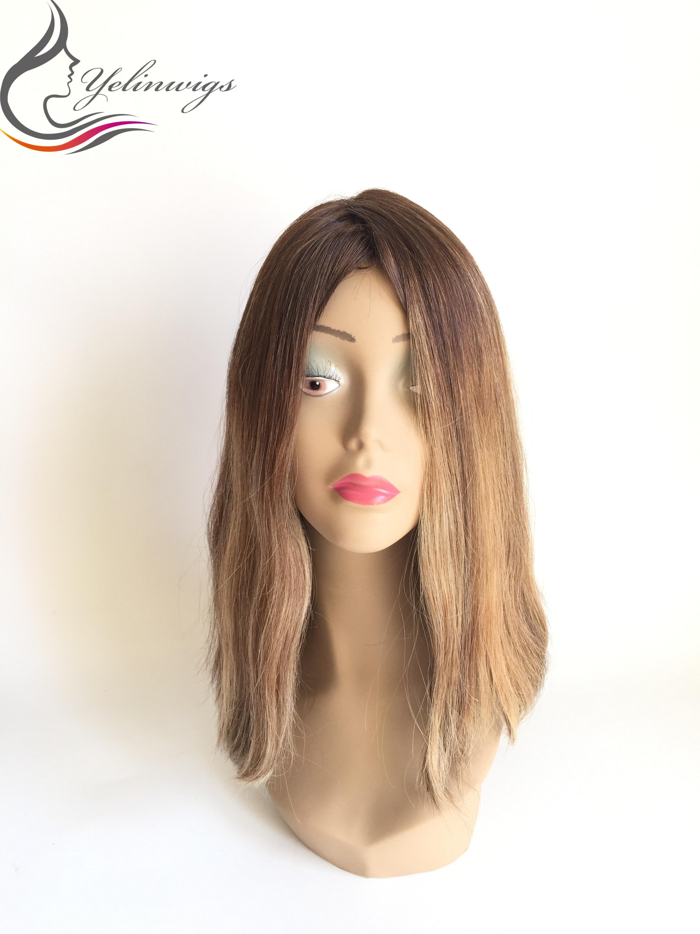 Factory Price European Hair Jewish Wig Kosher Wig High Density Hair European Hair Wig