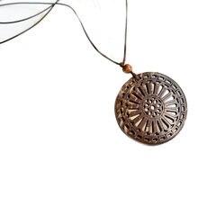 Yiyan кокосовое ожерелье с подвеской в богемном национальном