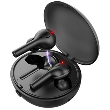 TWS V5.0 Wireless Earphones Bluetooth Earphone Mini Dual Wireless Earbuds 3D Stereo Sport Headset with Microphone + Charging Box t50 tws bluetooth headset sports touch wireless earphone 3d stereo microphone wireless earbuds charging box