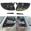 Новые зеркала с боковым крылом крышки из углеродного волокна Замена подходит для volkswagen Scirocco passat CC golf MK7 заднего вида