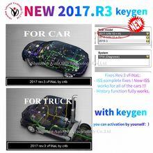 Mais novo 2017. r3 suporte iss funções com keygen em software dvd para delphis ds150e cdp vdijk autocoms pro wow cdp para o caminhão do carro