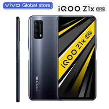Vivo-Teléfono Móvil Inteligente iQOO Z1x, 5G, Snapdragon 765G, batería de 5000mAh, frecuencia de actualización de 120Hz, carga de 33W, Android