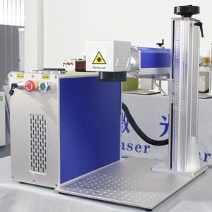 Image 4 - 50W Split Fiber Laser markering Machine Metalen Markering Machine Laser Graveur Machine Rvs