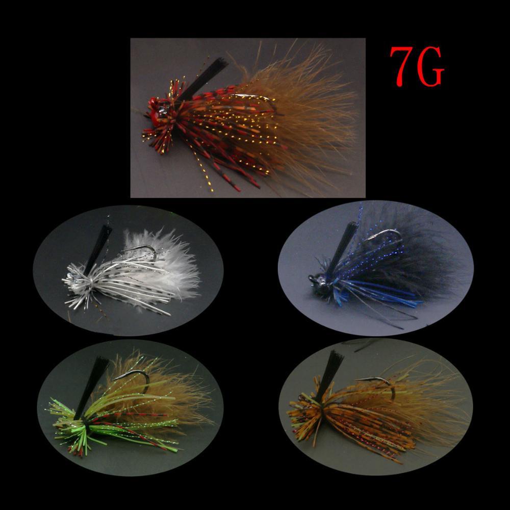 Mycena 5pcs/set 16G&18G&21G  spinnerbait  Chatter bait fishing lure  chatterbait Fishing Kit  Wobblers For Bass Fishing Tackle-4
