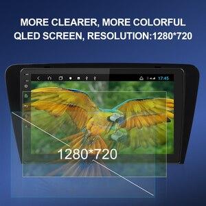 Image 2 - Isudar autoradio multimédia H53 Android, 8 cœurs, RAM de 4 go, ROM de 64 go, caméra DVR, DSP, 4G, 1 Din, pour voiture Skoda/Octavia 2014 1080