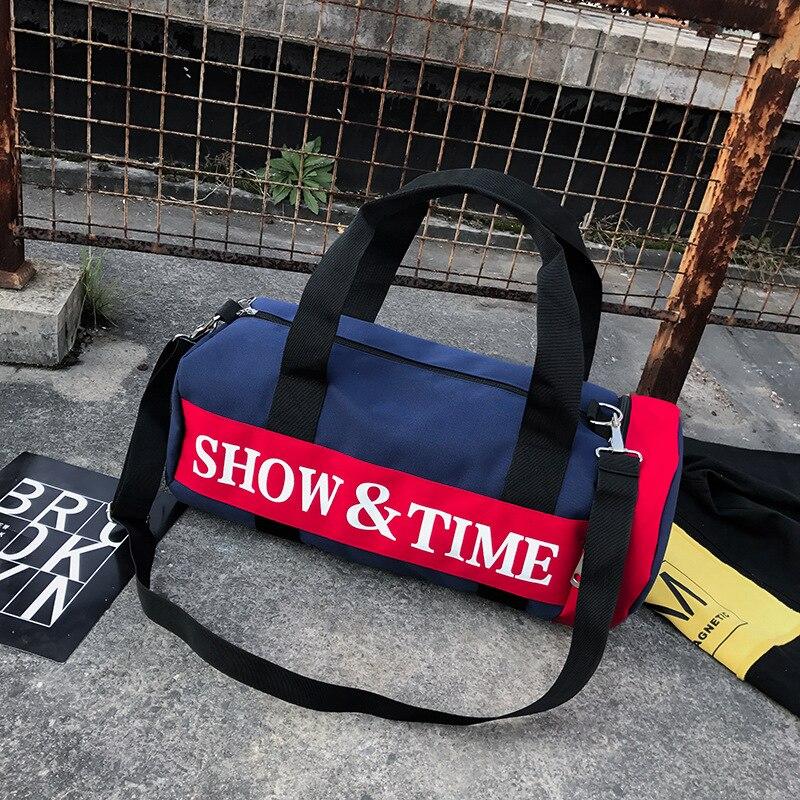 Холст Водонепроницаемый Дорожная сумка Спорт на открытом воздухе, фитнес сумка на одно плечо, сумка для Бизнес путешествие сумка для
