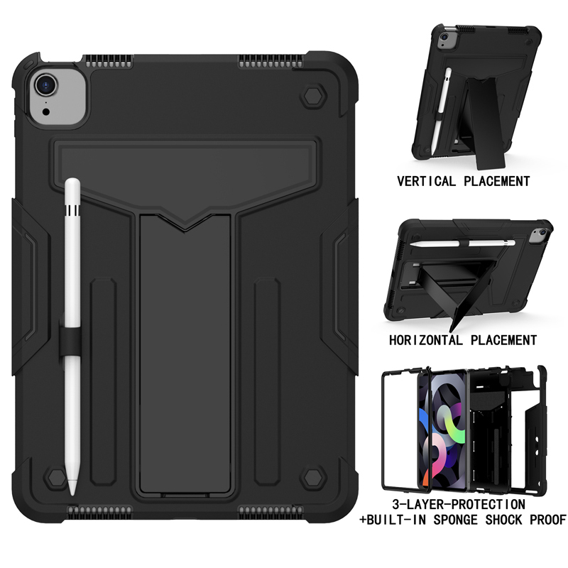 Black Green Shock Proof Case For iPad pro 11 2020 A2228 A2231 A2068 A2230 11 inch Heavy Duty