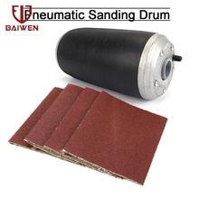 """3""""x9"""" 4""""x9"""" aluminum pneumatic sanding drum"""