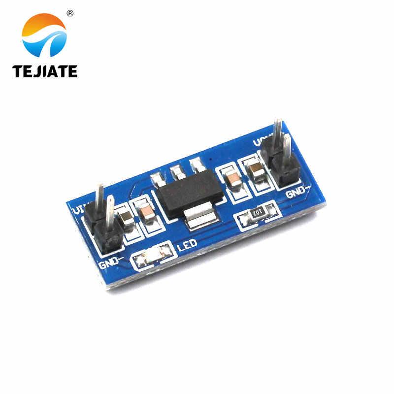 1PCS AMS1117 Lower-voltage Power Module Singlechip Unit 3.3/5V Stabilivolt Power Supply Board