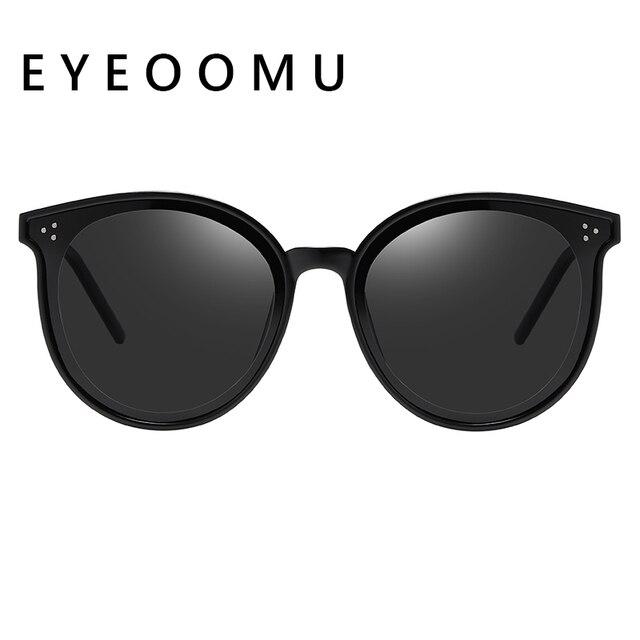 Купить eyeoomu ретро стиль кошачий глаз поляризационные солнцезащитные картинки цена