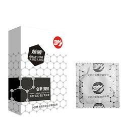 Beilile 2-3Pcs High-Tech Nano Material Penis Sleeve Warm Feeling Condoms for Men for Sex Sex ProductsGraphene Ultra Thin Condom
