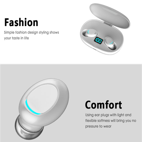 Wireless TWS Earbuds Bluetooth Headset Headphone Earphone For IPhone/Samsung NEW Karachi