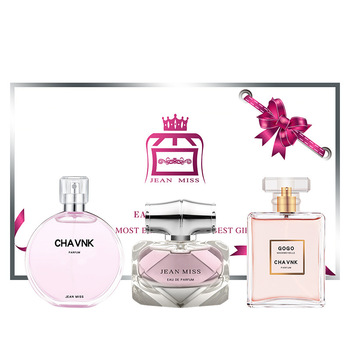 30ml+30ml+30ml original lady perfume gift box three-piece perfume long lasting fragrance light fragrance chuang code 30ml