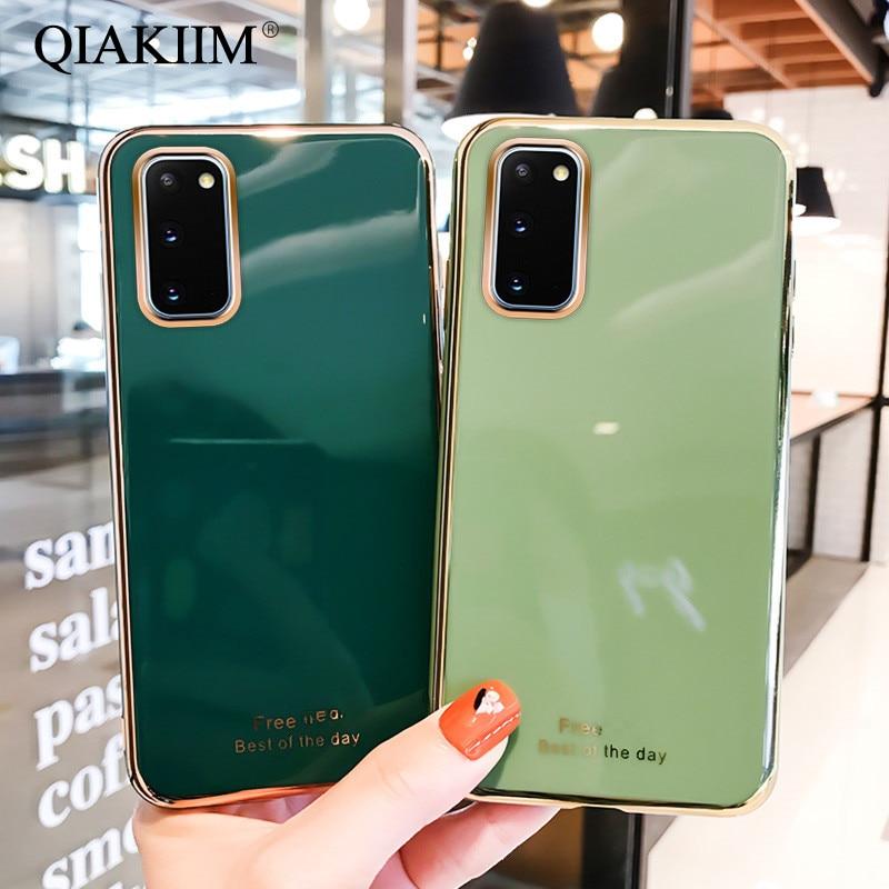 Покрытие мягкий чехол для телефона с изображением цветов для Samsung Galaxy A51 A71 A70 A50 A30 M31 M30 A41 A40 A30S A10S A10 A21S A90 5G A81 A91 однотонный чехол из ТПУ