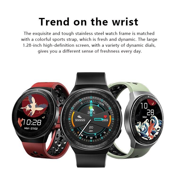 H038d2e9a9f47462a922b8d3101ec466cs MT3 Smart Watch Men Women Music Play 8G Memory Bluetooth Call Heart Rate Fitness Health Tracker Sport Waterproof Smartwatch