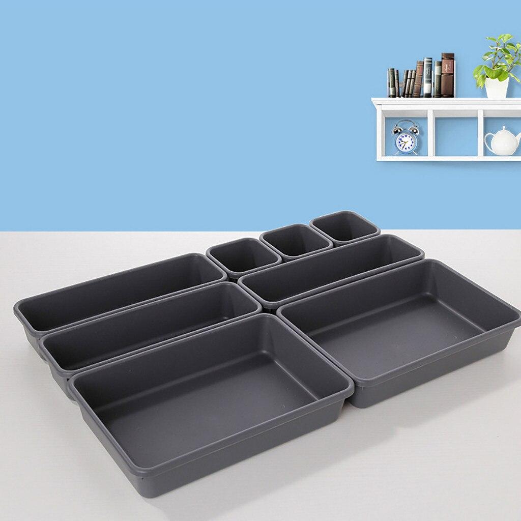 364.21руб. 5% СКИДКА|8 шт. Органайзеры для хранения ящиков, лучший блокирующий узкий ящик для ванной комнаты, офисный многоцелевой органайзер для ящиков стола|Ящики и баки для хранения| |  - AliExpress