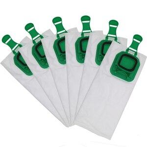 Image 5 - 6 / 12pcs high efficiency dust filter bag replacement for Vorwerk VK140 VK150 garbage bags FP140 Vacuum cleaner