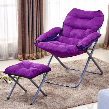 Creative Lazy Sofa Folding Computer Chair Living Room Single Tatami Leisure Bedroom nordic lazy sofa chair single armchair luxury small apartment bedroom living room chairs balcony leisure chair