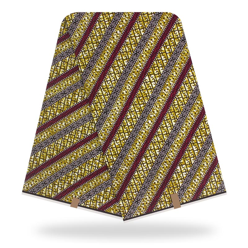 African Fabric Wax Print High Quality Veritable Wax Print Fabric 100% Cotton Wax African Veritable Real Dutch Wax For Dress